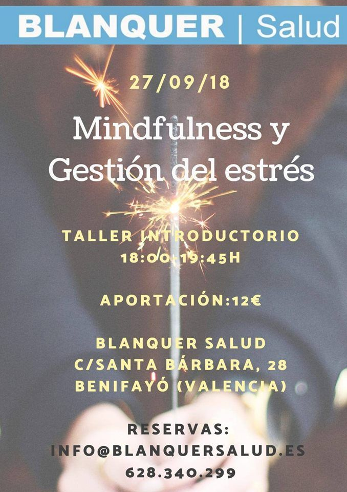 taller mindfulness blanquer salud valencia