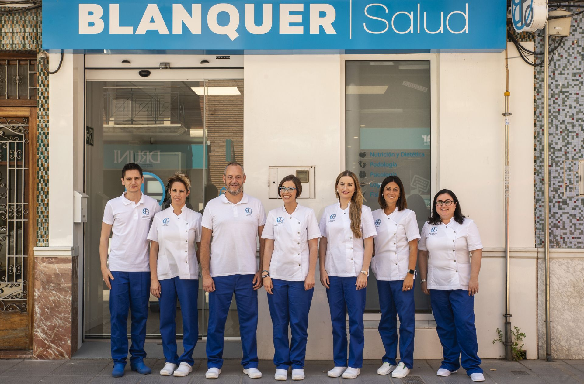 Blanquer SALUD equipo