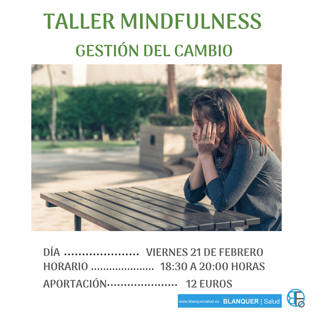 Taller mindfulness Valencia